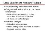 social security and medicare medicaid