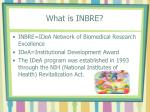what is inbre