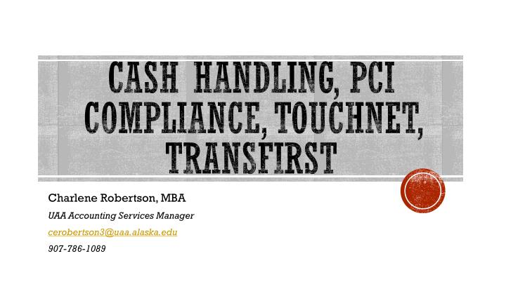 cash handling pci compliance touchnet transfirst n.