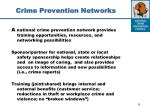 crime prevention networks1