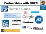 partnerships with ncpc