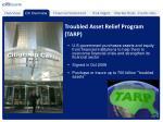 troubled asset relief program tarp