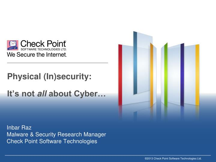 physical in security it s not all about cyber n.