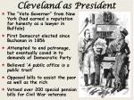 cleveland as president
