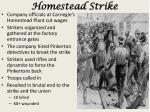 homestead strike