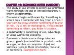 chapter 10 economics notes handout