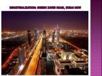 industrialization sheikh zayed road dubai now