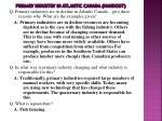 primary industry in atlantic canada handout1