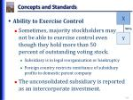concepts and standards1