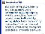 purpose of asc 810