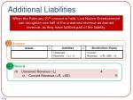 additional liabilities1