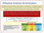 effective interest amortization