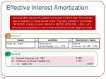 effective interest amortization1