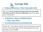 corrupt talk1