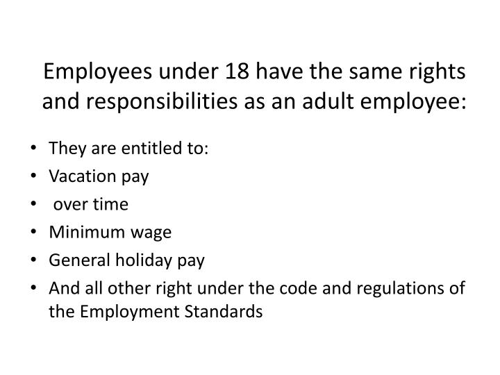 the employment rights and responsibilities essay Responsibility essays being responsible refers to our ability to make decisions that serve our own interests and the interests of others death penalty for juveniles: is it right the purpose of the responsibility matrix is to state who is responsible for different parts of a project and who has.