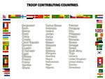 troop contributing countries