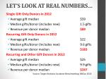 let s look at real numbers