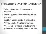 operations systems vendors
