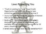 laws protecting you