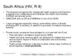 south africa hiv r 9