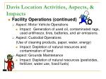 davis location activities aspects impacts3