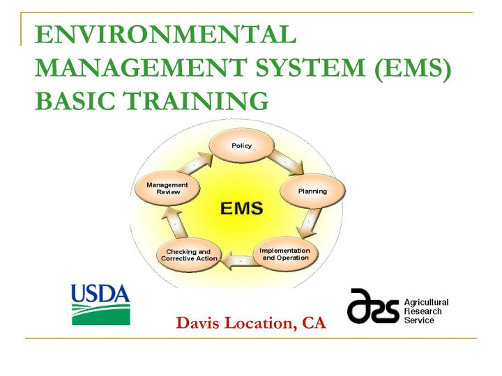 environmental management system ems basic training n.