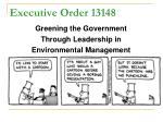 executive order 13148