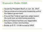 executive order 13243