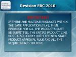 revision fbc 2010