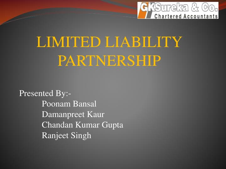limited liability partnership n.