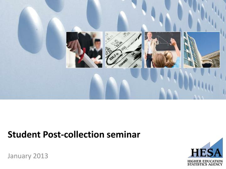 student post collection seminar n.