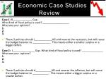 economic case studies review