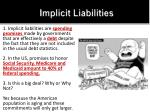 implicit liabilities
