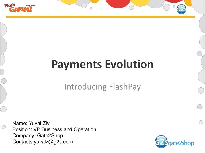 payments evolution n.