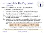 calculate the payment continued1