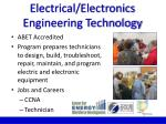 electrical electronics engineering technology