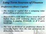 long term sources of finance1