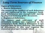 long term sources of finance3