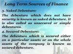 long term sources of finance4
