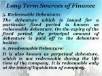 long term sources of finance5
