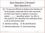 quiz question 2 answer quiz question 3