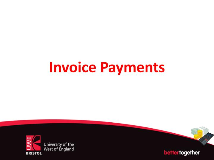 invoice payments n.