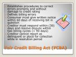 fair credit billing act fcba