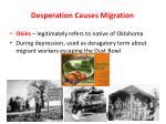 desperation causes migration1