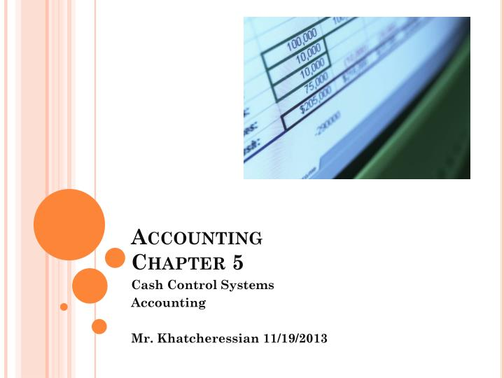 accounting chapter 5 n.