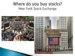 where do you buy stocks new york stock exchange