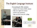 the english language institute