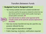 transfers between funds3