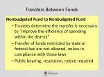 transfers between funds5