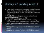 history of hacking cont1